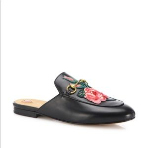 Flower Brixton Buckle Loafers